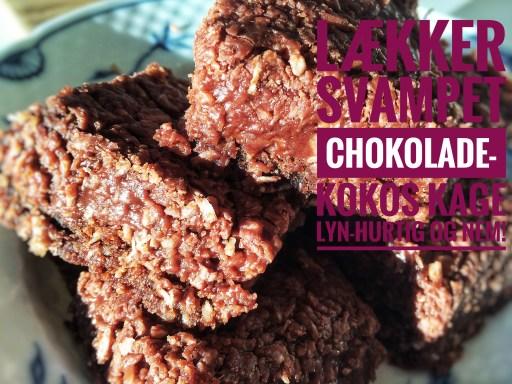 Snasket Chokoladekage, lækker og svampet