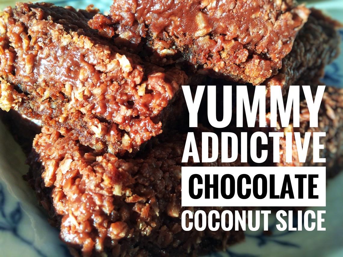 Chokoladekage med lækker choko-kokos-icing