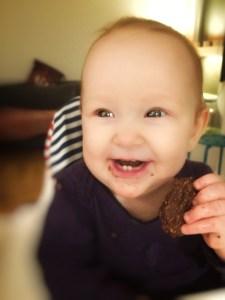 Kakao Baby Cookies, en skøn snack uden mel