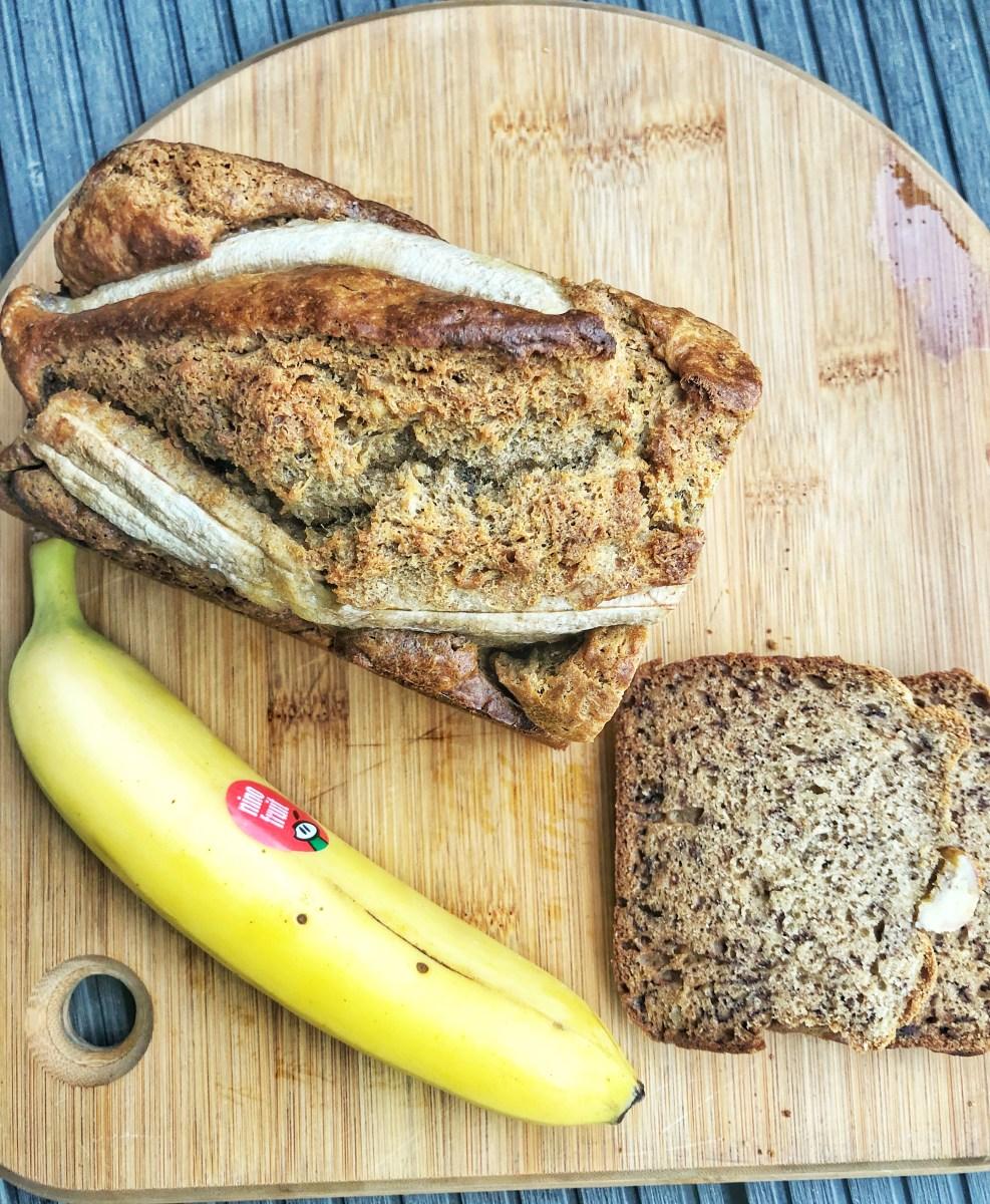 Lækkert, sundt bananbrød