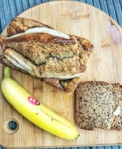 Bananbrød, sundt og lækkert