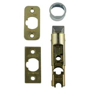Kwikset 1826-18 6-Way Adjustable Plain Latch, Polished Brass door lock parts