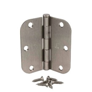 (Pack of 50) Hager 3 -0.5 Inch Satin Nickel Door Hinges