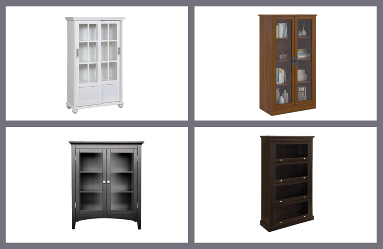 bookcase with the glass doortop quality product reviews