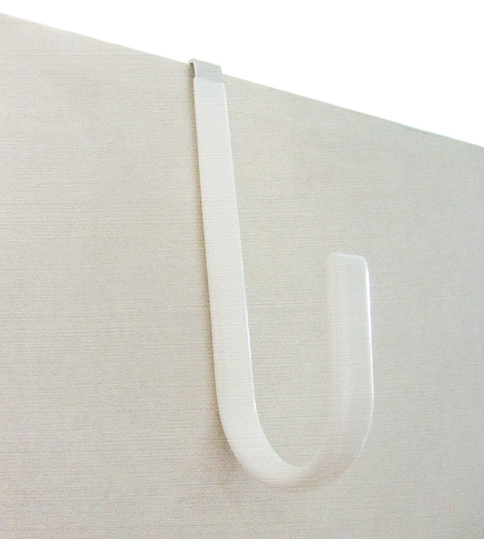 Starrxx Over the Door Hooks u2013 White Black or Lime Green (4-pack & Top 5 Quick Door Hanger Reviews to Give your Door a Lift [2018 ... pezcame.com
