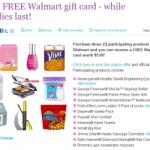 Free $5 Walmart Gift Card Rebate