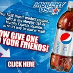 FREE 20oz Pepsi from Murphy USA!