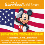 Military: HOT Promotional Deal for Disney & Shades of Green!