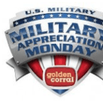 Golden Corral: Military Appreciation Monday for Veterans & Active Duty {Today!!!}