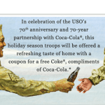 Troops Get a FREE 20 oz Bottle Of Coca-Cola!! {Today ONLY!}