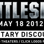 Select Theatres offering BattleShip movie Military discount