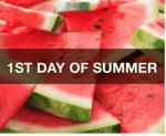 Today is the 1st Day of Summer!!