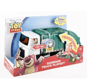 Toy Story 3 Transforming Garbage Truck Playset ONLY $10.27