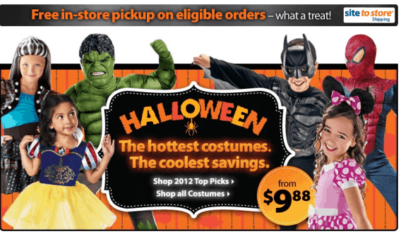 Walmart Halloween Costume Deals from $9.88 + FREE Ship to Store ...