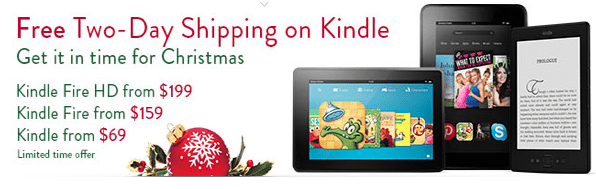Kindle Products: FREE Two-Day Shipping