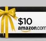 $10 Amazon Gift Card Winner