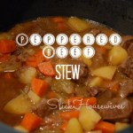 Peppered Beef Stew Recipe – Crockpot Cooking