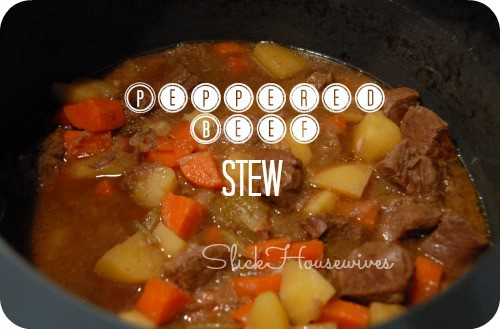 Peppered Beef Stew Recipe