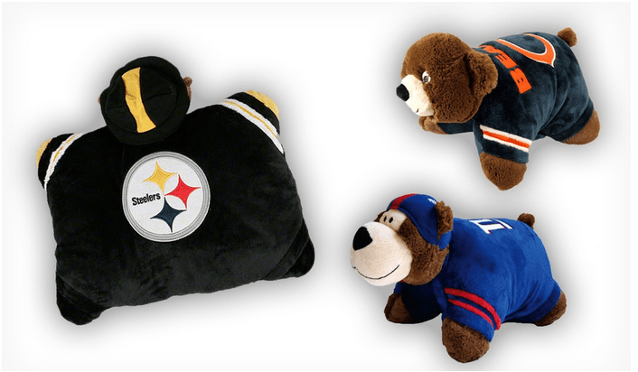 NFL Mini Pillow Pets Only 1299 Slick Housewives