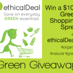 $100 Green Shopping Spree Giveaway