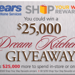 Sears Dream Kitchen Sweepstakes and $25K Giveaway #SearsKitchen
