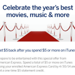 Free $5 American Express Credit for iTunes