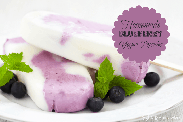 Blueberry Yogurt Popsicle Recipe