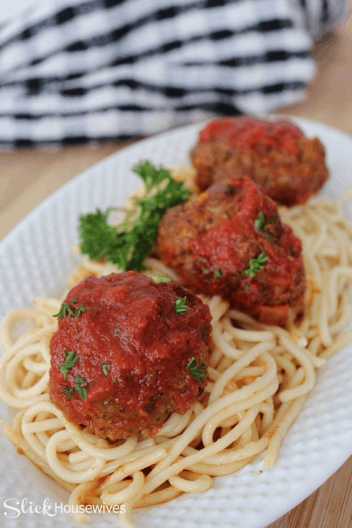 crockpot italian meatball recipe