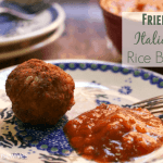 Fried Italian Rice Balls Recipe