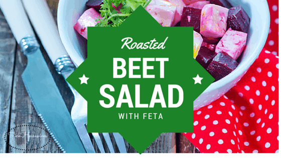 Roasted Beet Salad with feta recipe