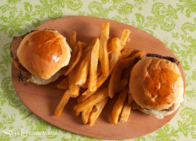easy cheeseburger slider recipe