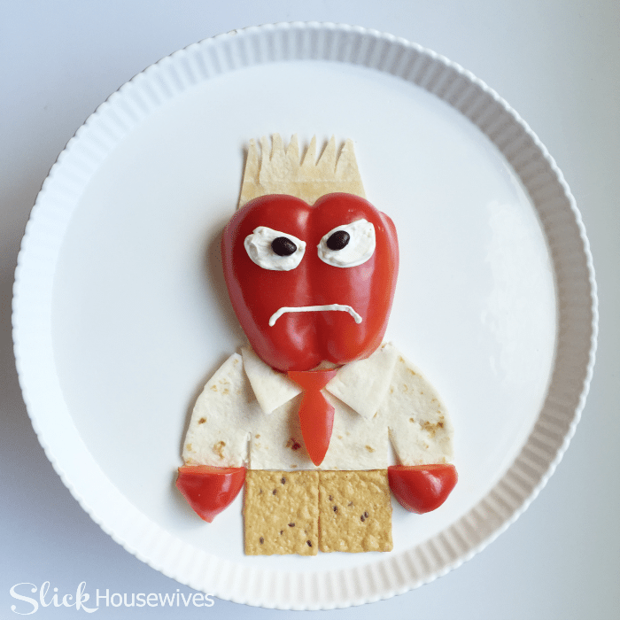 inside out anger snack tray