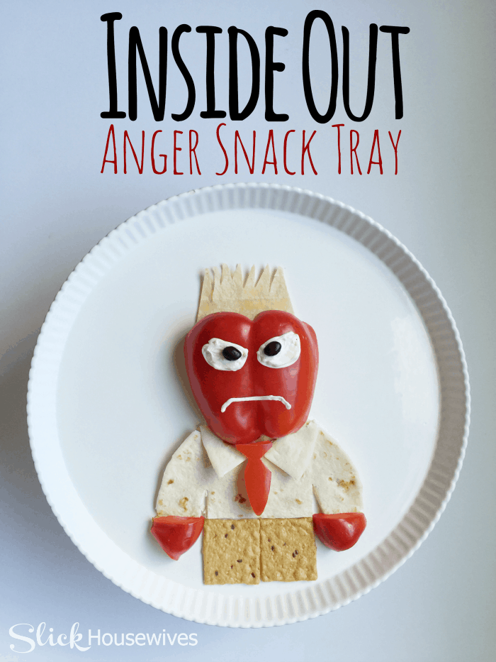 Inside Out Anger Snack Recipe