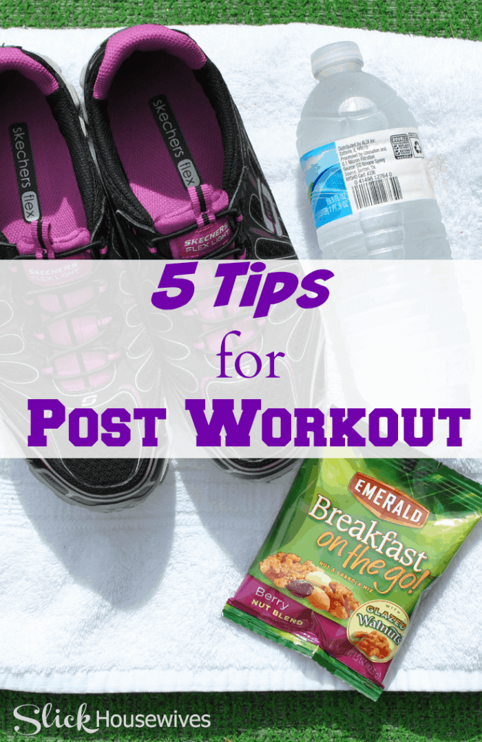 post workout tips