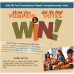Halloween Pumpkin Carving/Decorating Contest