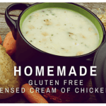 Homemade Gluten Free Condensed Cream of Chicken Soup