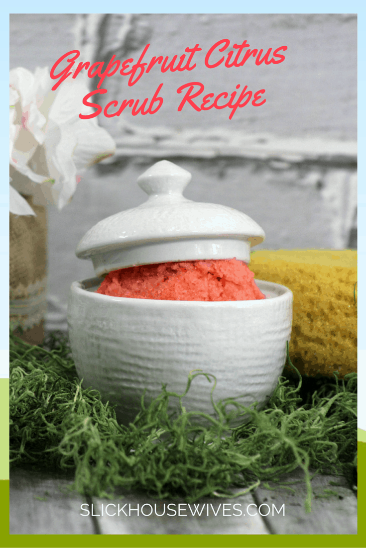 Grapefruit Citrus Scrub Recipe