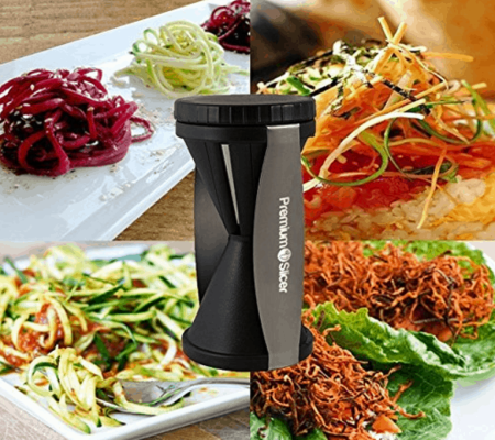 Premium Vegetable Spiralizer Bundle Deal