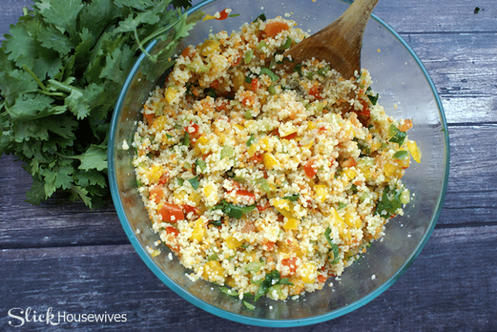Sweet Pepper Couscous Salad Recipe