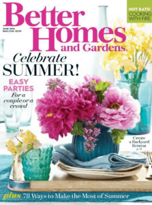 FREE Subscription to Better Homes & Gardens Magazine!