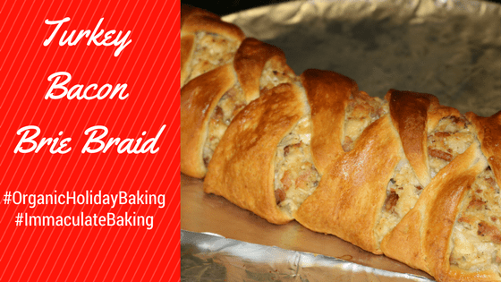 Turkey Bacon Brie Braid Recipe