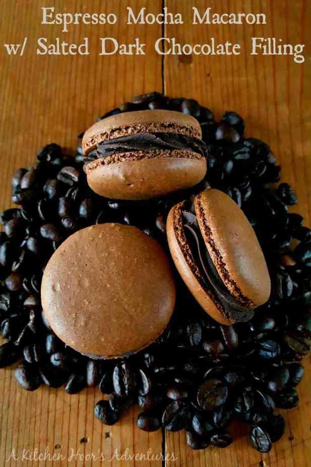 Espresso Mocha Macarons