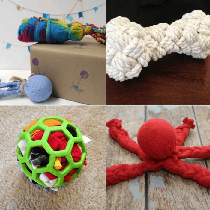 13 Homemade DIY Dog Toys