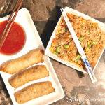 Homemade Pork Egg Rolls Recipe with Fried Rice