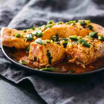 Instant Pot Salmon with Chili-Lime Sauce Recipe
