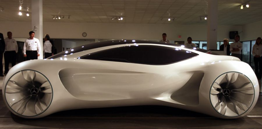 MercedesBenze Biome Futuristic Car