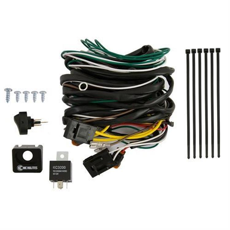 wiring solutions wiring kc daylighters: kc hilites wiring harness