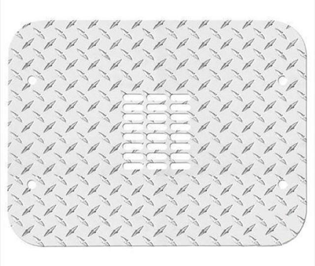 Warrior Tailgate Cover Center Only Aluminum Diamond Plate 920d X4