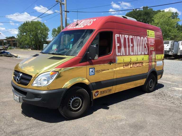 Custom Vehicle Van Wrap