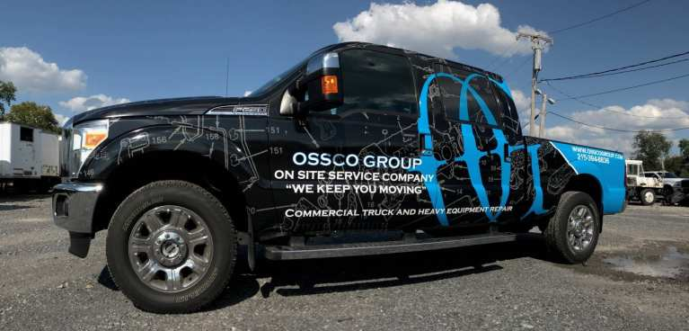 Pick up truck wraps